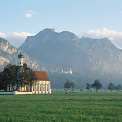 St Coloman's Church, Bavaria, Germany