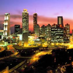 Night, Atlanta, Georgia, USA