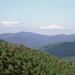 High angle view of a mountain, Georgia, USA