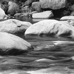 Rocks In The Swift River, White Mountain National Forest, New Hampshire, USA