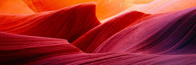 Close-up of rock formations, Arizona, USA