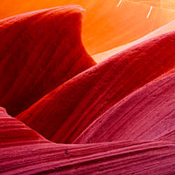 Close-up of rock formations, Arizona, USA