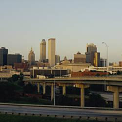 Expressway In A City, Tulsa, Oklahoma, USA