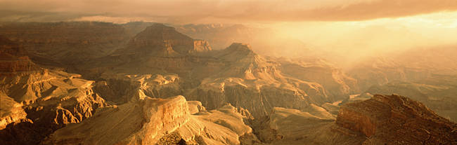 Sunrise Hopi Point Grand Canyon National Park AZ USA