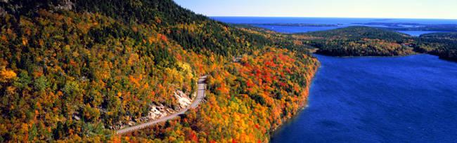 Mount Jordan Pond, Acadia National Park, Maine, USA