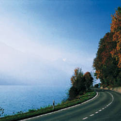 Road, Lake, Brienz, Switzerland