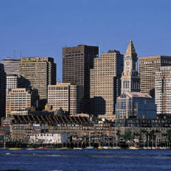 Skyline, Cityscape, Boston, Massachusetts, USA,