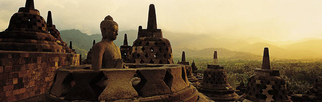 Indonesia, Java, Borobudur Temple