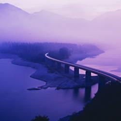 Twilight road Germany