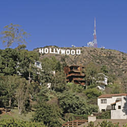 USA, California, Los Angeles, Hollywood Sign at Hollywood Hills