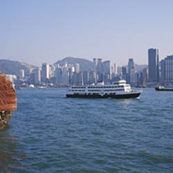 Buildings On The Waterfront, Kowloon, Hong Kong, China