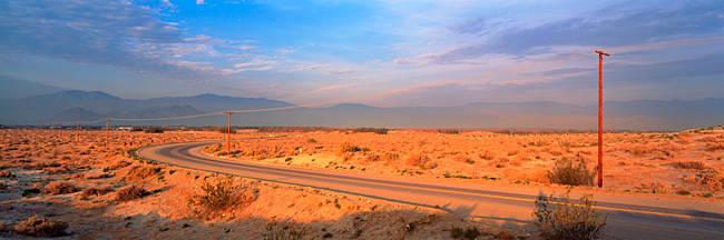 Road Desert Springs CA