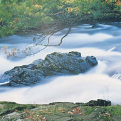 Falls of Leny River Teith Scotland