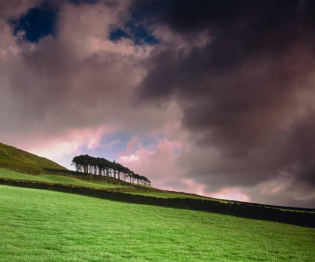 Stormy Sky N Yorkshire England