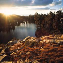 Skelton Lake John Muir Wilderness Sierra Nevada Mts CA USA