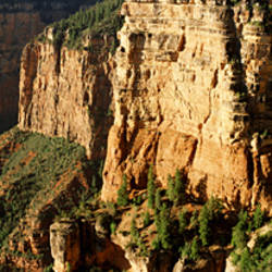 High angle view of cliffs, Grandview Point, Grand Canyon National Park, Grand Canyon, Arizona, USA