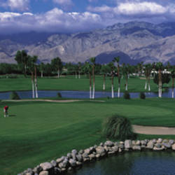 Golf Course, Palm Springs, California, USA