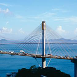 Ting Kaw & Tsing Ma Bridge Hong Kong China