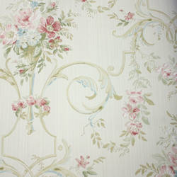 Floral Arabesque  Light Cream