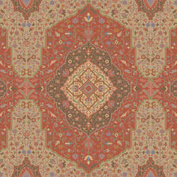 Intricate Rug, Red Multicolor