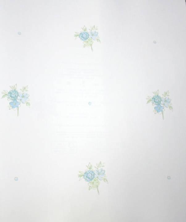 Miss Fleur Blue Belle Kids Wallpaper