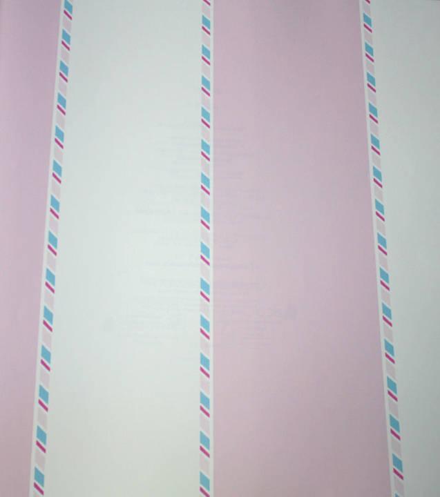 Candy Striper Cotton Candy Pink Kids Wallpaper
