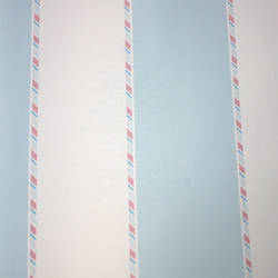 Candy Striper Robins Egg Blue Kids Wallpaper