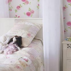 Rosebud Pink Petal Kids Wallpaper