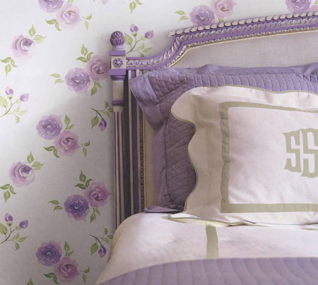 Rosebud Lavender Blush Kids Wallpaper
