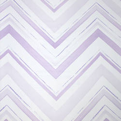 Chevron Stripe Lavender Blush Kids Wallpaper