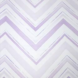 Chevron Stripe Lavender Blush Kids Wallpaper