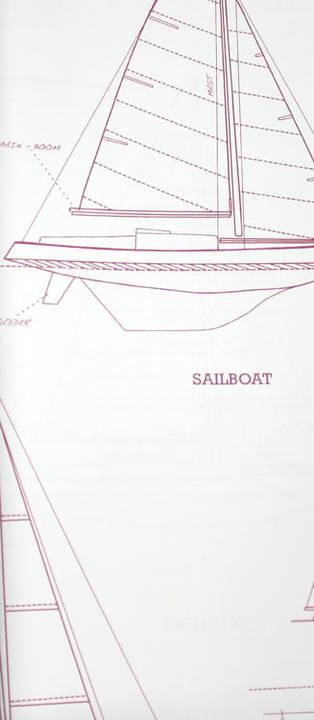 Come Sail Away Signal Red Kids Wallpaper