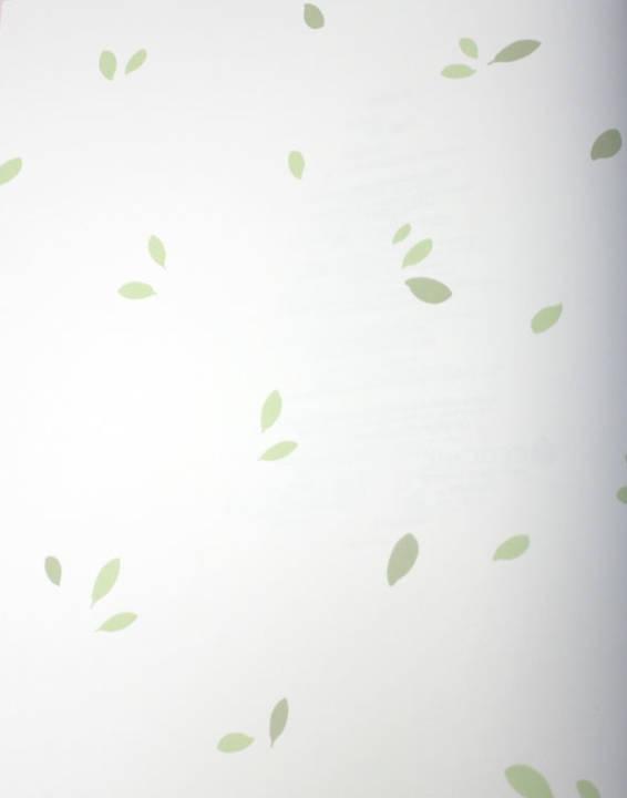 Tiny Leaves Multi Green Kids Wallpaper