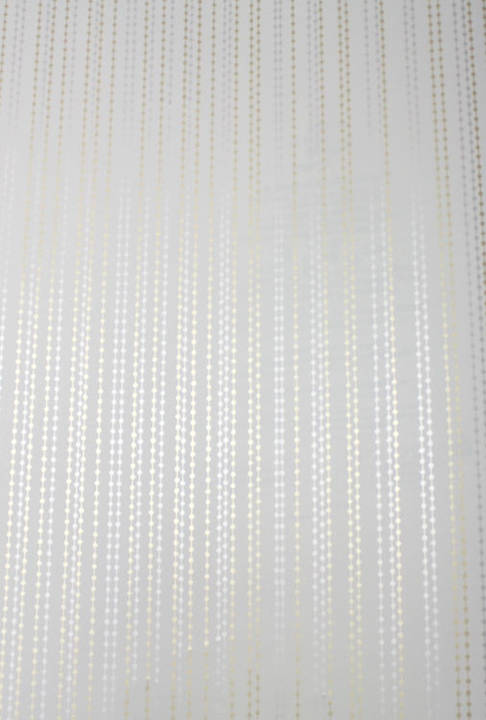 Beaded Curtain Gold and Silver Kids Wallpaper