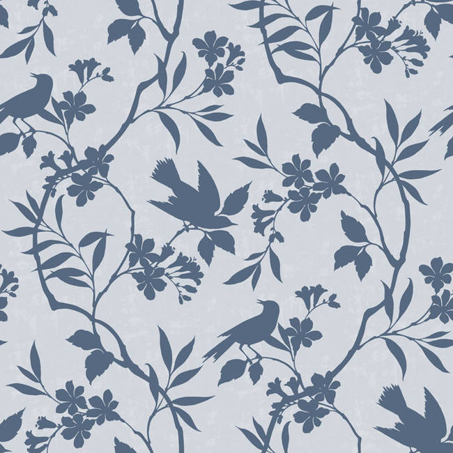 Out On A Limb, Blue Skies - Wallpaper Tiles