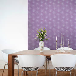 Skinny Mums, Purple - Jessica Swift Wallpaper Tiles