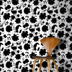 Tres Bien, Snow - Wallpaper Tiles