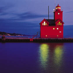 Big Red Lighthouse, Holland, Michigan, USA