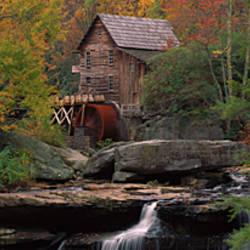 USA, West Virginia, Glade Creek Grist Mill