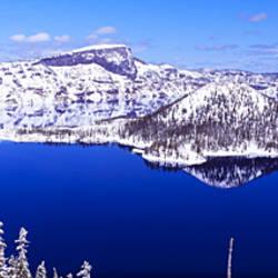 USA, Oregon, Crater Lake National Park