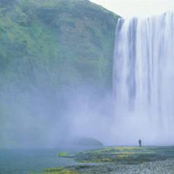 Skogafoss Falls, Skogar River, Iceland