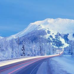 Alyeska Highway, Alaska, USA