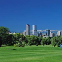 Skyline In Daylight, Denver, Colorado, USA