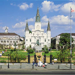 Jackson Square, New Orleans, Louisiana, USA