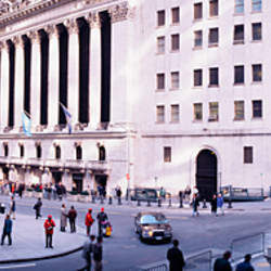 Wall Street, NYC, New York City, New York State, USA