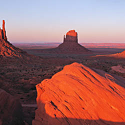 Sunset At Monument Valley Tribal Park, Utah, USA