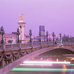 Bridge over a river, Seine River, Paris, France