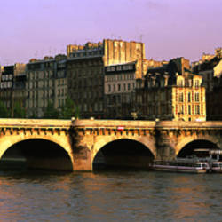 Pont Neuf Bridge, Paris, France