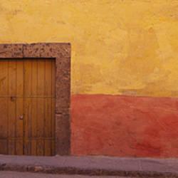Mexico,Guanajuato,San Miguel de Allende, door in a wall