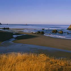 Rocks on the beach, Cannon Beach, Oregon, USA